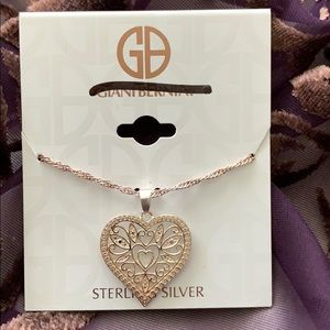 Giani Bernini sterling silver necklace